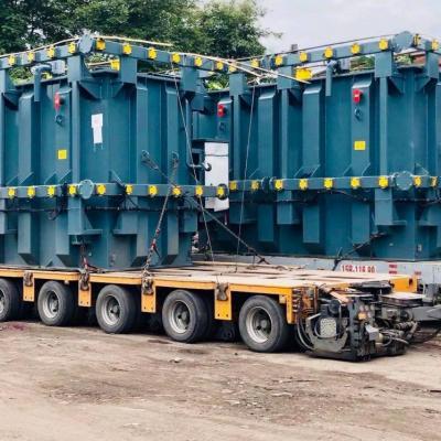 Vận tải máy biến thế siêu trường siêu trọng từ Đông Anh Hà Nội vào KCN Vũng Áng.