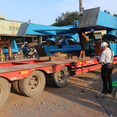 Vận chuyển lô hàng dự án cho nhà máy LILAMA 18